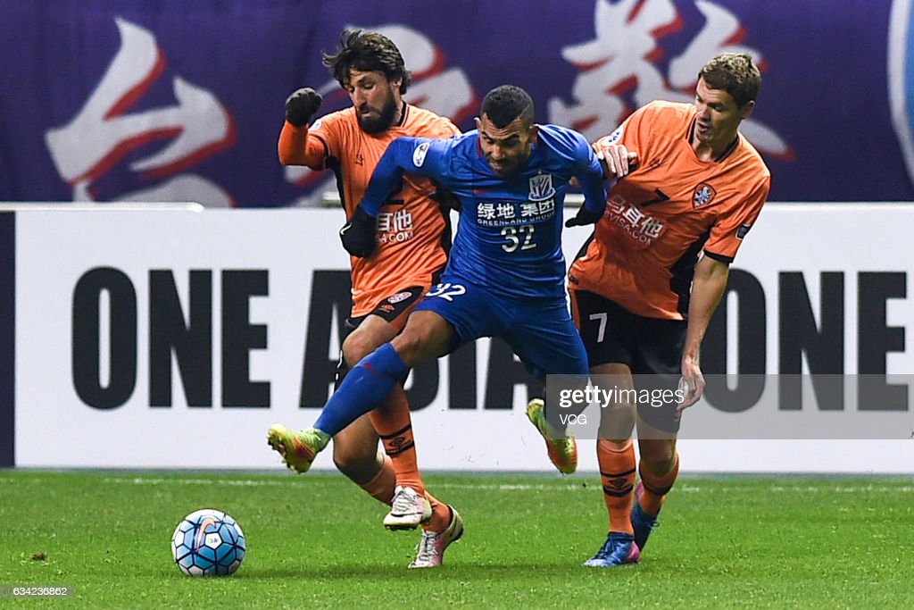 AFC Champion League 2017 - Playoff Stage - Shanghai Shenhua v Brisbane Roar