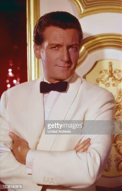 Carlos Thompson, argentinischer Schauspieler und Schriftsteller, Deutschland 1960. Argentinian actor and author Carlos Thompson, Germany 1960.