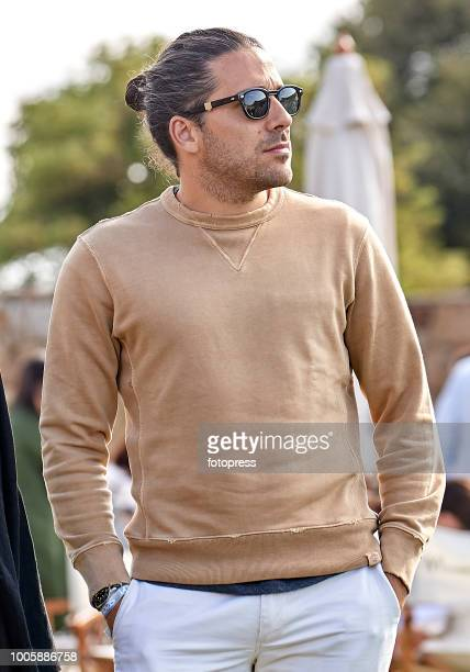 Carlos Torretta attends during CSI Casas Novas Horse Jumping Competition on July 20 2018 in A Coruna Spain