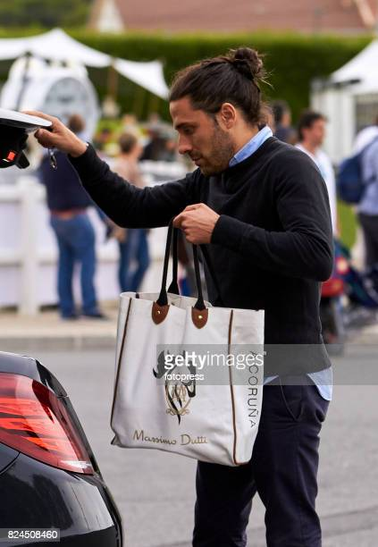 Carlos Torretta attends during CSI Casas Novas Horse Jumping Competition on July 30 2017 in A Coruna Spain