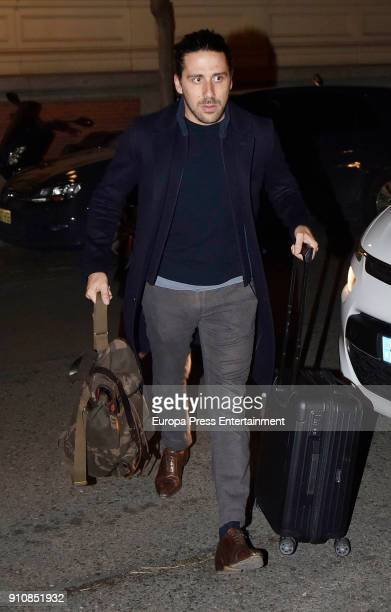 Carlos Torretta is seen on January 18 2018 in Madrid Spain
