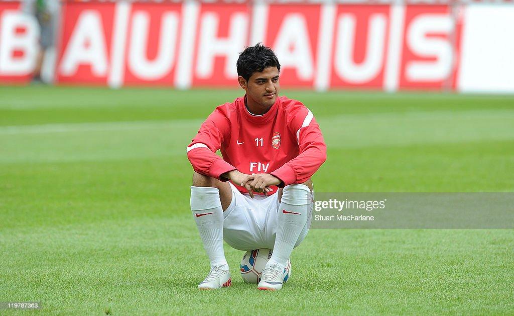 Cologne v Arsenal - Pre Season Friendly : News Photo