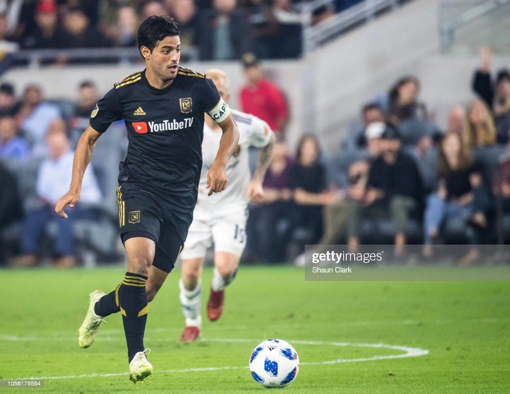 MLS Soccer - Western Conference Knockout - Los Angeles FC v Real Salt Lake : News Photo