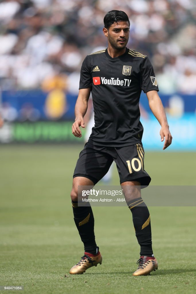 Carlos Vela Of Los Angeles Fc Lafc During The Mls Match