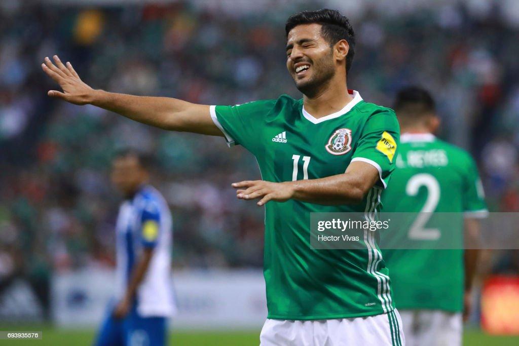 Mexico v Honduras - FIFA 2018 World Cup Qualifiers : News Photo
