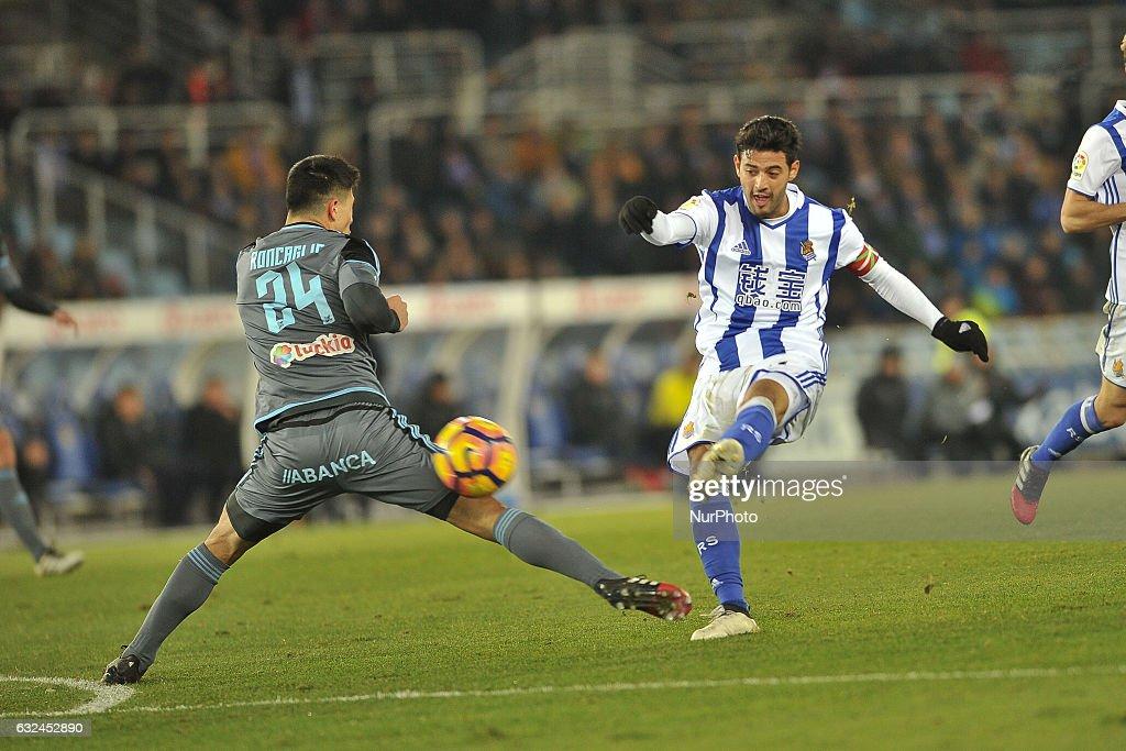 Real Sociedad vs Celta Vigo - La Liga : News Photo