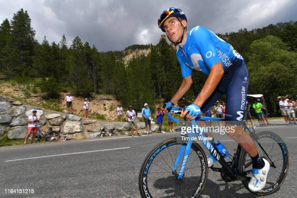 Carlos Verona of Spain and Movistar Team / during the 106th Tour de France 2019 Stage 18 a 208km stage from Embrun to Valloire 1419m / TDF / #TDF2019...