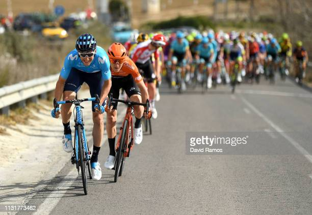 Carlos Verona of Spain and Movistar Team / during the 65th Ruta del Sol 2019 Stage 5 a 1633km stage from Otura to Alhaurin De La Torre 90m / #65RdS /...