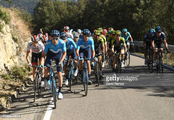 Carlos Verona of Spain and Movistar Team / during the 99th Volta Ciclista a Catalunya 2019 Stage 3 a 179km stage from Sant Feliu de Guíxols to...