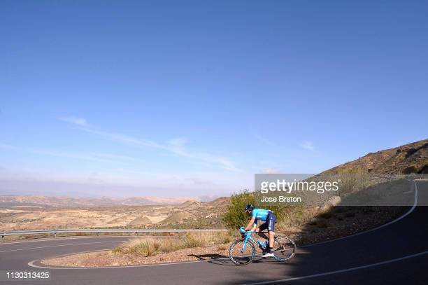 Carlos Verona of Spain and Movistar Team / Landscape / during the 32nd Clásica de Almería 2019 a 1925km race from Almería to Roquetas de Mar / CA /...
