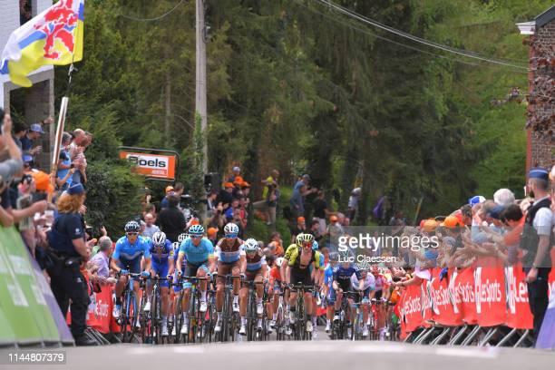 Carlos Verona of Spain and Movistar Team / Omar Fraile Matarranza of Spain and Astana Pro Team / Mickael Cherel of France and Team AG2R La Mondiale /...