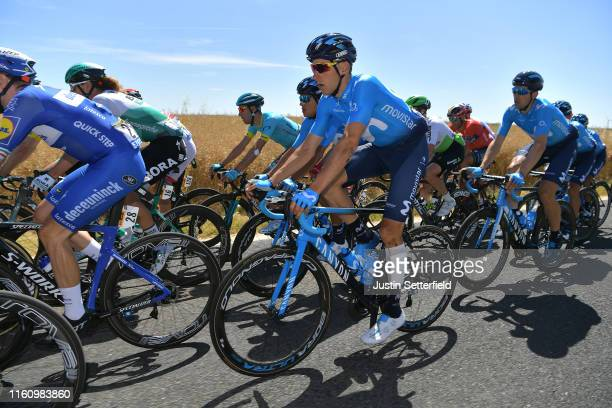 Carlos Verona of Spain and Movistar Team / Peloton / during the 106th Tour de France 2019 Stage 4 a 2135km stage from Reims to Nancy / TDF / #TDF2019...