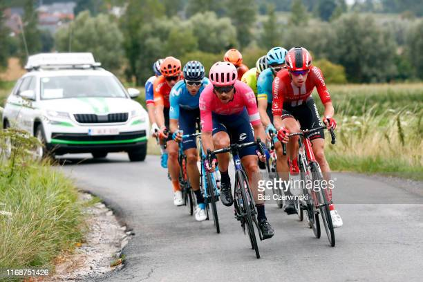 Carlos Verona of Spain and Movistar Team / Valentin Madouas of France and Team GroupamaFDJ / Mitchell Docker of Australia and Team EF Education First...