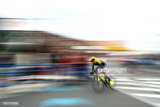 Carlos Verona of Spain and Team Mitchelton Scott in action during the 6th Tour de France Saitama Criterium 2018 a 589km race from Saitama to Saitama...