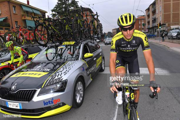 Carlos Verona of Spain and Team MitcheltonScott / Car / during the 101th Giro Dell'Emilia 2018 a 2074km race from Casalecchio di RenoBologna to San...