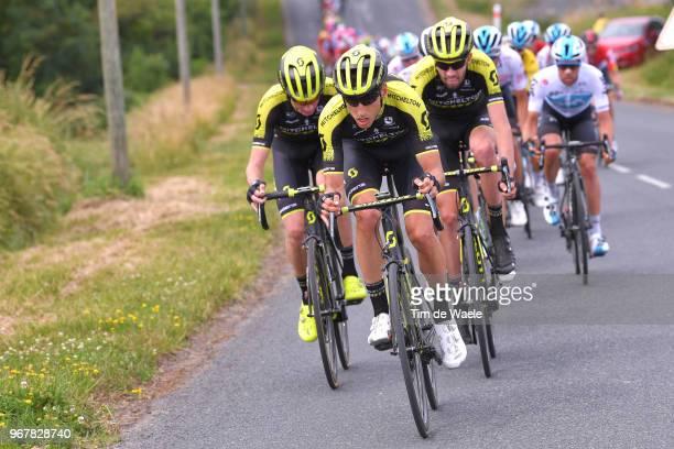 Carlos Verona of Spain and Team MitcheltonScott / Damien Howson of Australia and Team MitcheltonScott / during the 70th Criterium du Dauphine 2018...