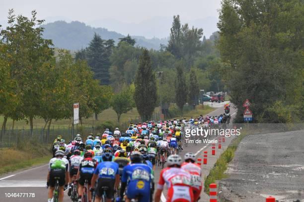 Carlos Verona of Spain and Team MitcheltonScott / Eros Capecchi of Italy and Team Italia / Peloton / Landscape / during the 101th Giro Dell'Emilia...