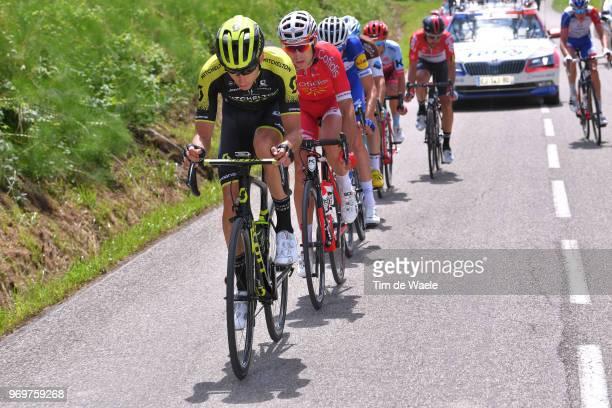 Carlos Verona of Spain and Team MitcheltonScott / Nicolas Edet of France and Team Cofidis / Laurens De Plus of Belgium and Team QuickStep Floors /...