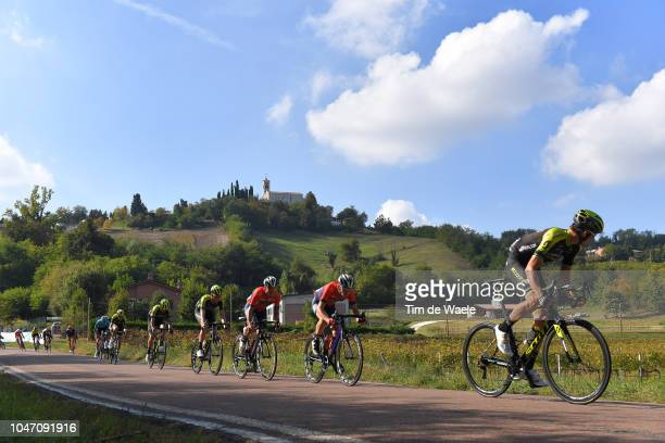 Carlos Verona of Spain and Team MitcheltonScott / Peloton / Landscape / during the 23rd Gran Premio Bruno Beghelli 2018 a 1963km race from...