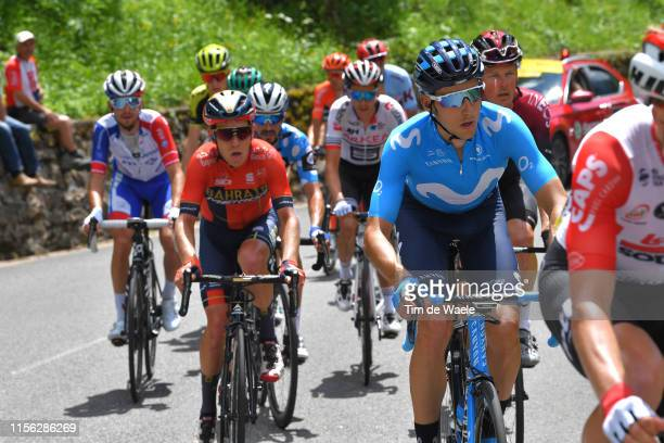 Carlos Verona Quintanilla of Spain and Movistar Team / during the 71st Criterium du Dauphine 2019 Stage 8 a 1135km stage from Cluses to Champéry...