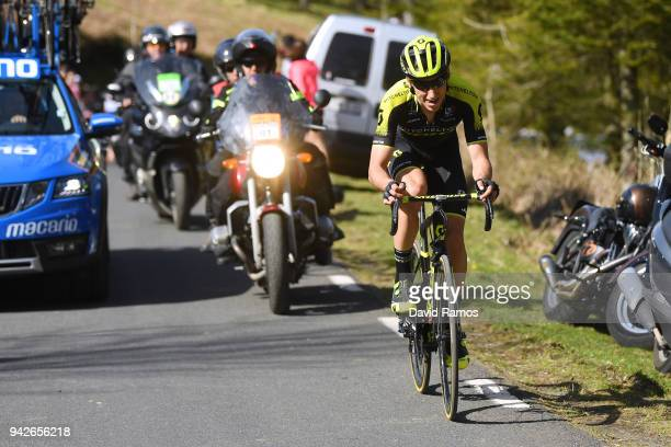 Carlos Verona Quintanilla of Spain and Team MitcheltonScott / Car / during the 58th Vuelta Pais Vasco 2018 Stage 5 a 1647km stage from VitoriaGasteiz...