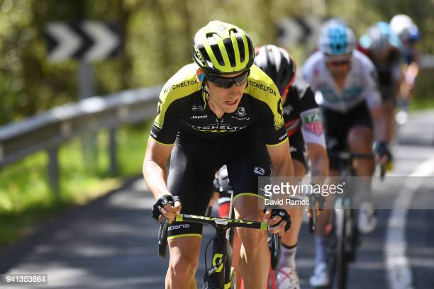 Carlos Verona Quintanilla of Spain and Team MitcheltonScott / during the 58th Vuelta Pais Vasco 2018 Stage 2 a 1667 stage from Zarautz to Bermeo on...