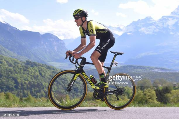 Carlos Verona Quintanilla of Spain and Team MitcheltonScott / during the 72nd Tour de Romandie 2018 Stage 3 a 99km individual time trial stage from...