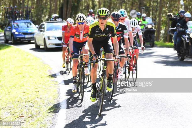 Carlos Verona Quintanilla of Spain and Team MitcheltonScott / Mark Padun of Ukraine and Team BahrainMerida / during the 58th Vuelta Pais Vasco 2018...