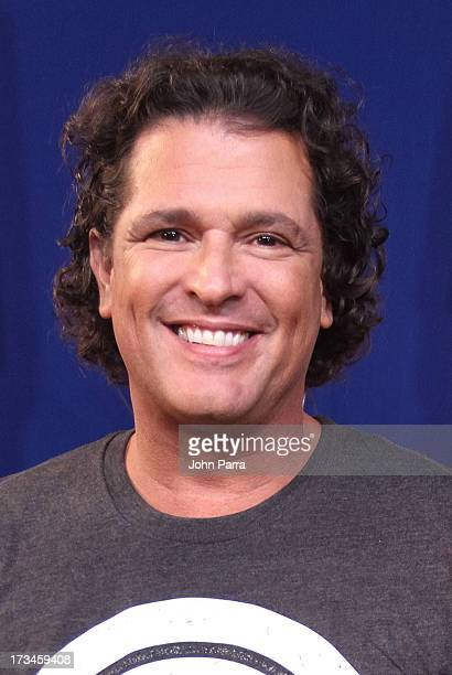 Carlos Vives backstage before his concert at American Airlines Arena on July 13 2013 in Miami Florida