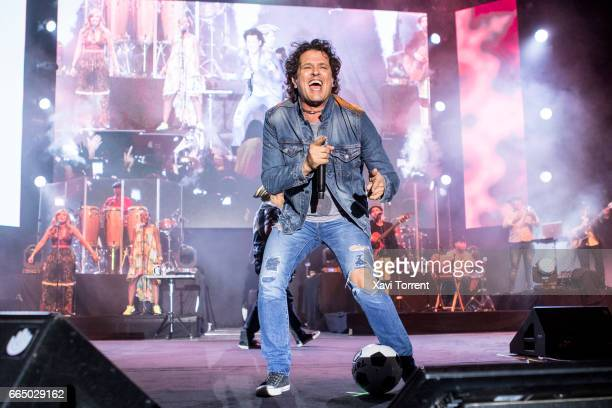 Carlos Vives performs in concert at Sant Jordi Club on April 5 2017 in Barcelona Spain