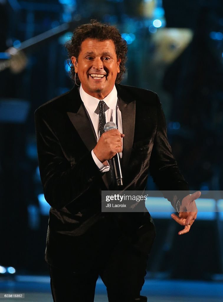 Carlos Vives performs onstage during the 2016 Person of the Year honoring Marc Anthony at the MGM Grand Garden Arena on November 16, 2016 in Las Vegas, Nevada.