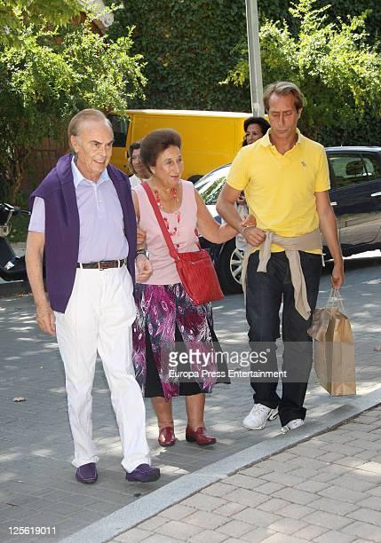 Carlos Zurita Princess Margarita of Spain and Alfonso Zurita attend Maria Zurita's birthday at 'La Masia de Jose Luis' restaurant Maria Zurita is...