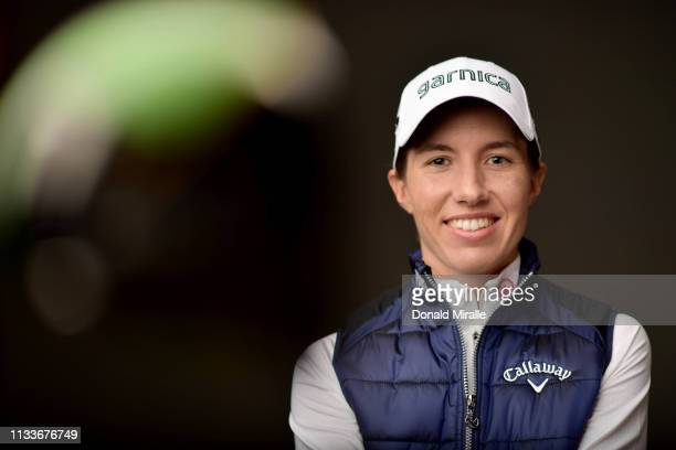 Carlota Ciganda of Spain poses for a portrait at the Park Hyatt Aviara Resort on March 26 2019 in Carlsbad California