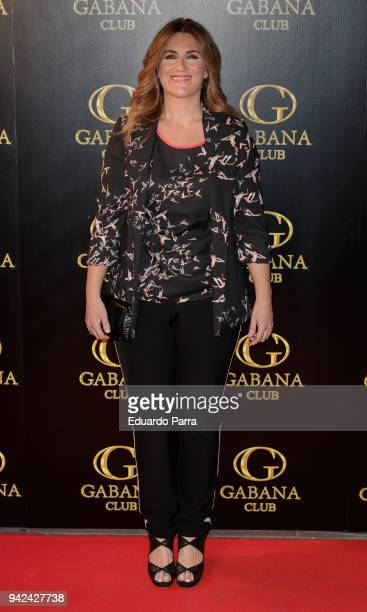 Carlota Corredera attends the 'Alejandra Rubio's birthday photocall' at Gabana disco on April 5 2018 in Madrid Spain