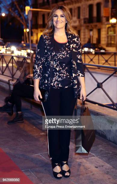 Carlota Corredera attends the Alejandra Rubio's birthday photocall' at Gabana disco on April 5 2018 in Madrid Spain