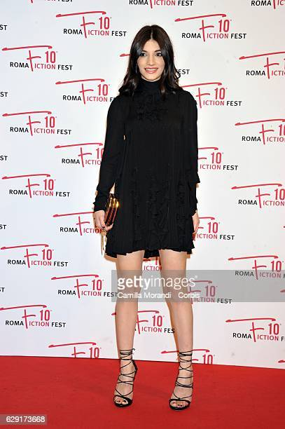 Carlotta Antonelli attends a red carpet for Immaturi during the Roma Fiction Fest on December 11 2016 in Rome Italy