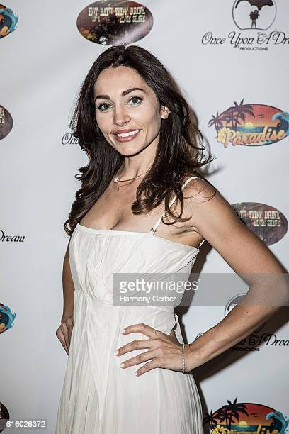 Carlotta Montanari attends the International Family Film Festival opening night at Raleigh Studios on October 20 2016 in Los Angeles California