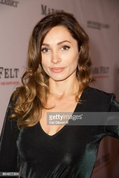 Carlotta Montanari attends the Premiere Of Sony Pictures Classics' Mark Felt The Man Who Brought Down The White House at Writers Guild Theater on...