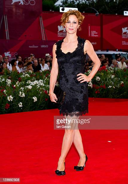 Carlotta Natoli attends the Quando La Notte premiere during the 68th Venice Film Festival at Palazzo del Cinema on September 7 2011 in Venice Italy
