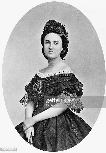 Carlotta wife of Maximilian Emperor of Mexico Undated photograph BPA2# 4237