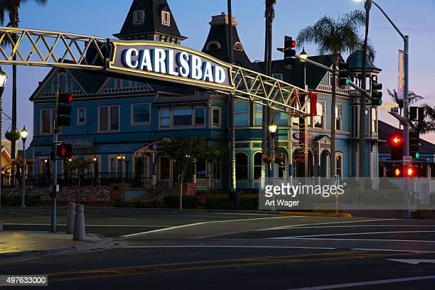 carlsbad california at dawn - carlsbad california stock pictures, royalty-free photos & images