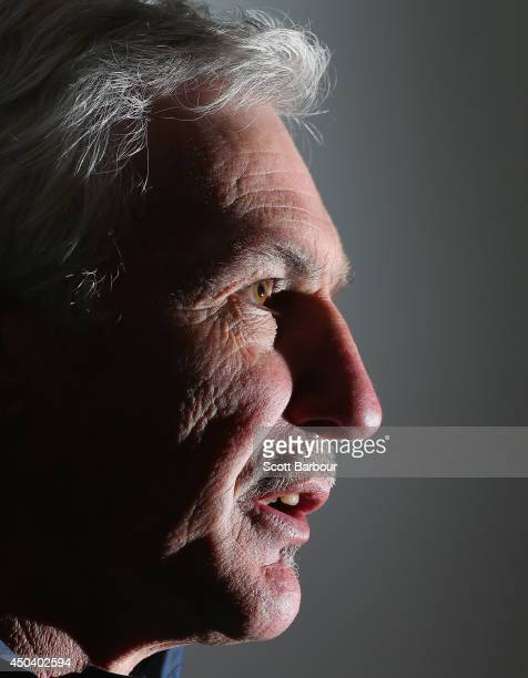 Carlton coach Mick Malthouse speaks to the media during a Carlton Blues AFL media session at Visy Park on June 11 2014 in Melbourne Australia