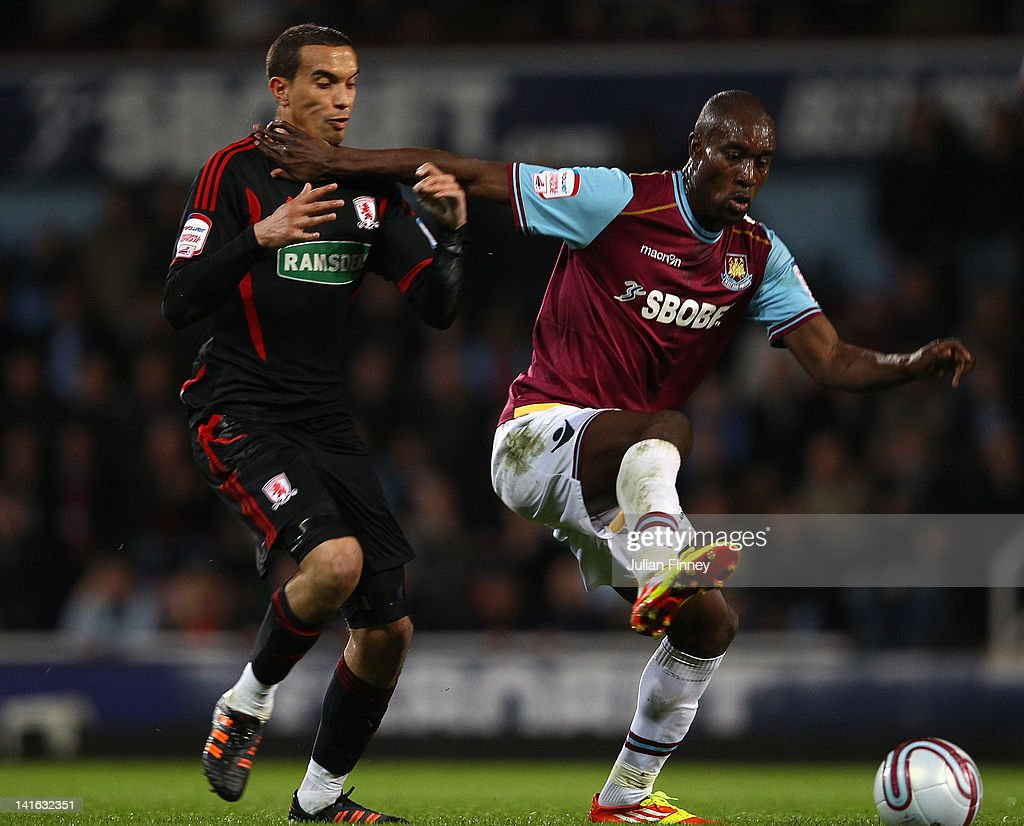 West Ham United v Middlesbrough - npower Championship : News Photo