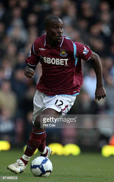 Carlton Cole of West Ham United during the Barclays Premier League match between West Ham United and Bolton Wanderers at Upton Park on March 6 2010...