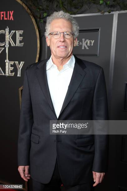 Carlton Cuse attends Netflix's Locke Key series premiere photo call at the Egyptian Theatre on February 05 2020 in Hollywood California