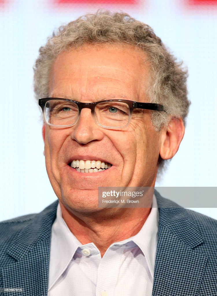Carlton Cuse, Executive Producer/Showrunner of the television show 'The Strain' speaks onstage during the FX portion of the 2014 Television Critics Association Press Tour at the Langham Hotel on January 14, 2014 in Pasadena, California.