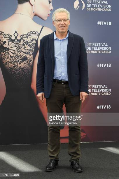 Carlton Cuse from the serie 'Tom Clancy's Jack Ryan' attends a photocall during the 58th Monte Carlo TV Festival on June 16 2018 in MonteCarlo Monaco