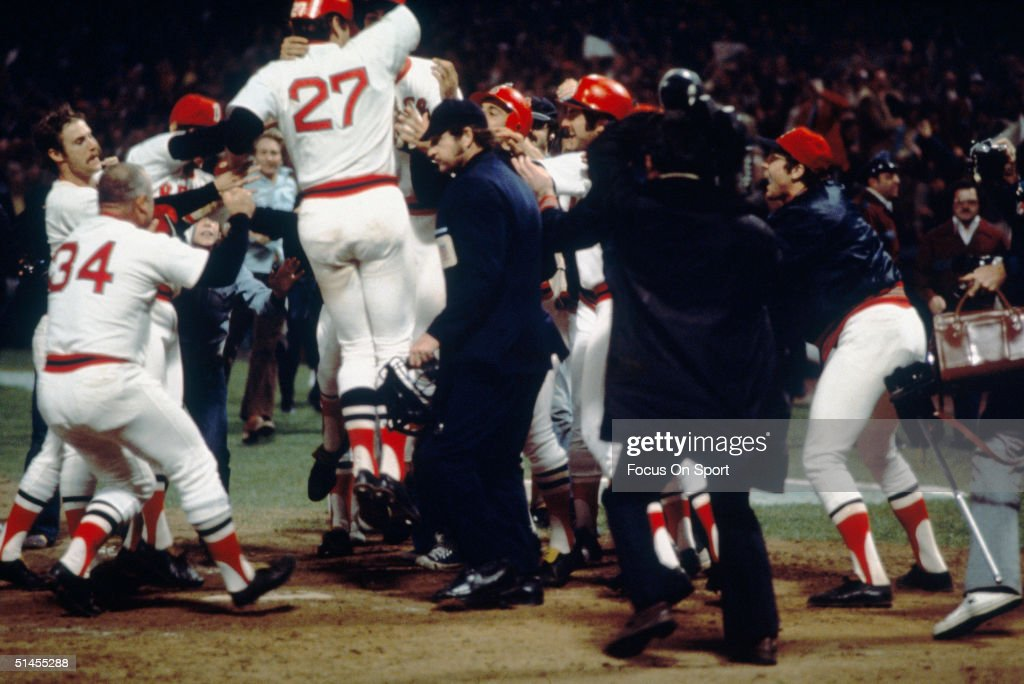 1975 World Series - Reds v Red Sox : News Photo