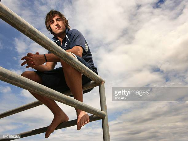 Carlton Football club Community Camp in Merimbula Kade Simpson 8th February 2007 THE AGE SPORT Picture by WAYNE TAYLOR