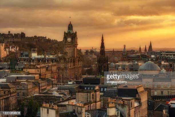 carlton hill, edinburgh, scotland - entertainment event stock pictures, royalty-free photos & images